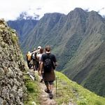 Inca Trail to Machu Picchu Peru Photo