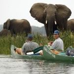 Mana Pools Zimbabwe Canoeing Safari Photo Zambezi River