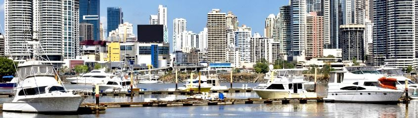 Panama holidays - view of modern Panama City