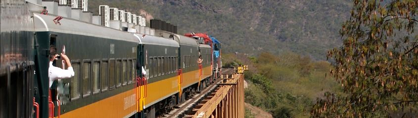 Copper Canyon train holidays