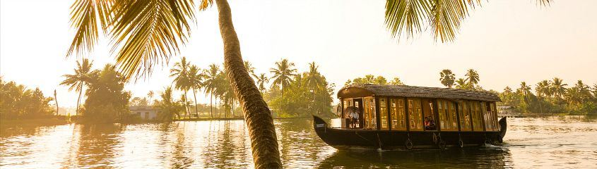 Kerala India Vacations Tiger Safaris Holidays Periyar Backwaters Houseboat