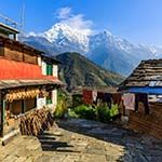 Annapurna Trail Nepal Photo Kathmandu Chitwan Elephant Safari