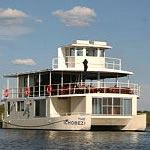 Houseboat Chobe Botswana Photo Zambezi River Tiger Fishing